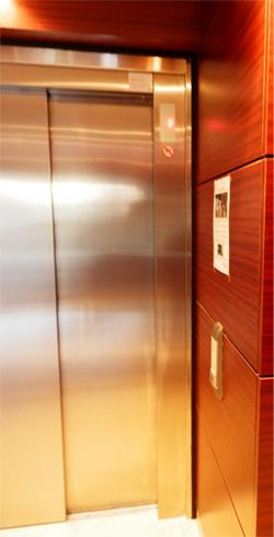 ascenseur immeuble centre ville