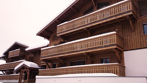 bâtiment montagne