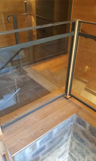 montée escalier plongée