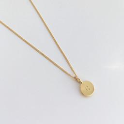 Charlotte's 18K Gold Pendant