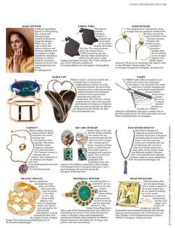 September 2018 - Jewellery Designer Profile