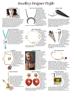 Jewellery Designer Profile - British Vogue, August 2018