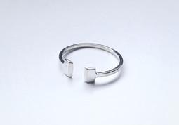 Custom Geo Cuff Ring