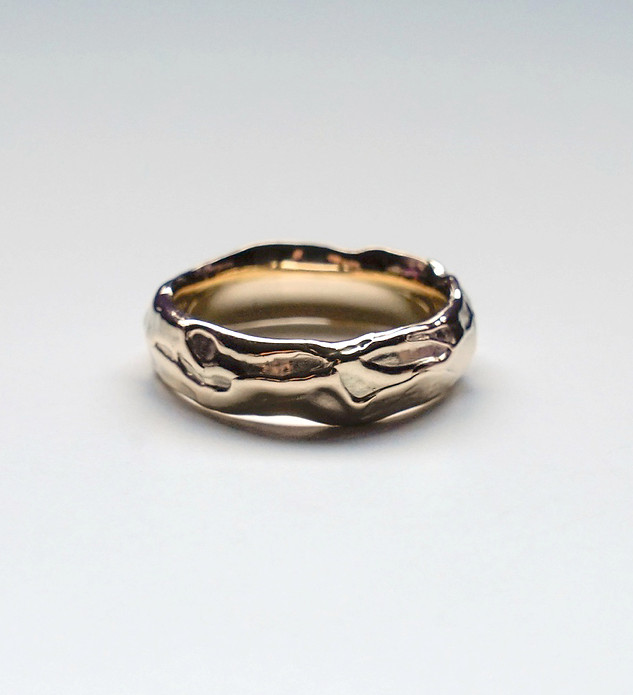 Tyler's Wedding Band - 10K Yellow Gold