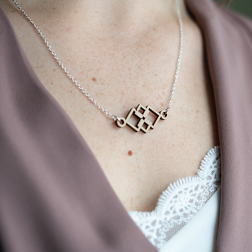 Square Overlay Necklace