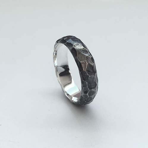 Raw Facetted Band