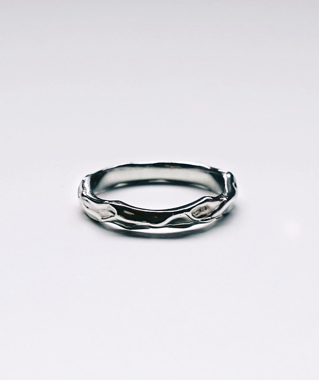 Natasha's Wedding Band - 14K White Gold