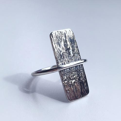 Flat Top Rustic Ring