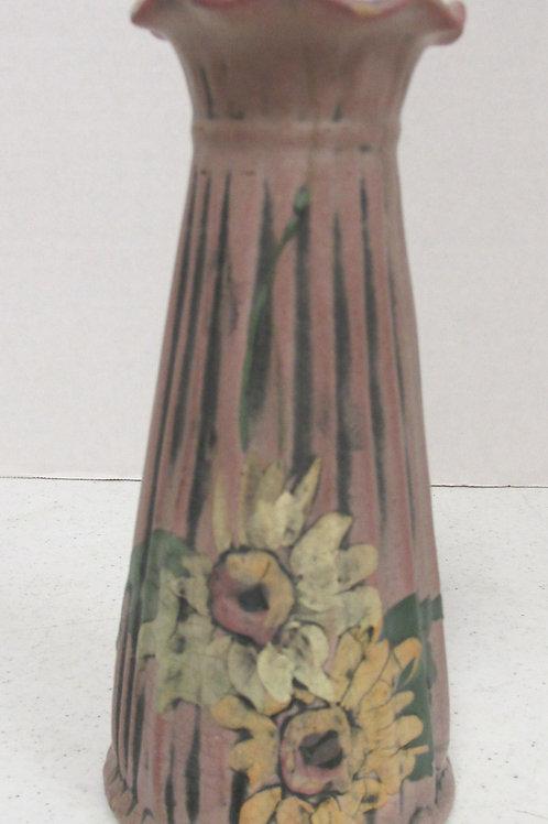 Vintage Weller Louella Hand Painted Pottery Vase