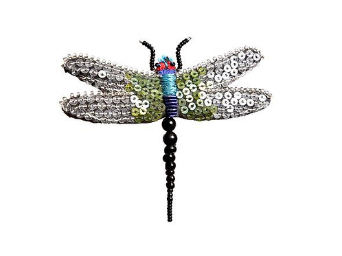 Trovelore Flutter Fairy Dragonfly Embellished Pin New in Box Handcr
