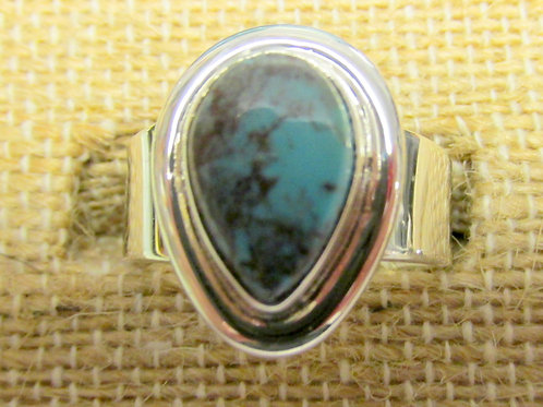 Bisbee Turquoise Ring Size 7.25