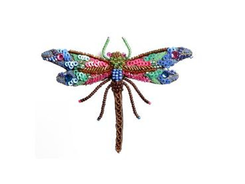 Trovelore Braid Dragonfly Embellished Pin New in Box Handcr