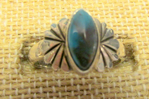 Bisbee Blue Turquoise Ring Size 8