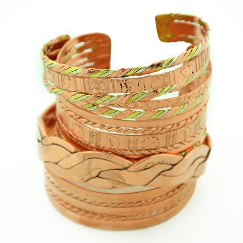 Copper & Mixed Metal Cuff Bracelets