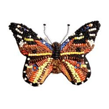 Trovelore Monarch Butterfly Embellished Pin New in Box Handcr