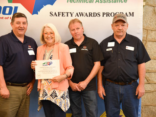 Gold Award for Safety - Third Year