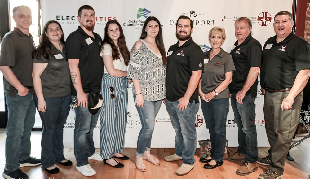 Staff and spouses of Rocky Mount Electric Motor