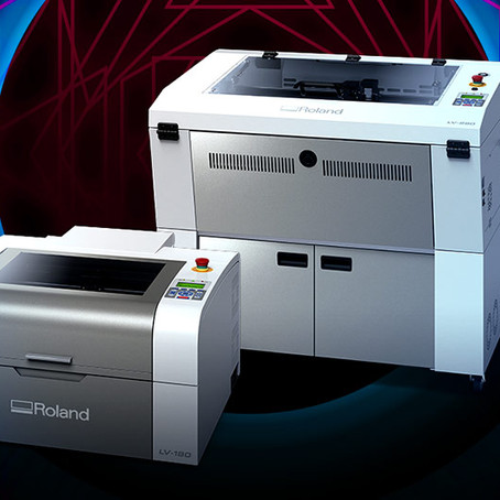 Introducing Roland's New Laser Engraving Machines