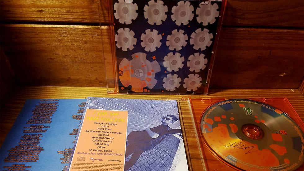 PixelRustMuzic Limited Edition CD