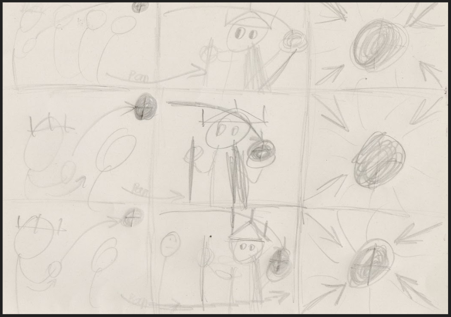 Some storyboards/sketches