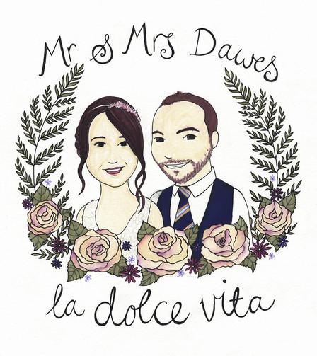 Mr & Mrs Dawes