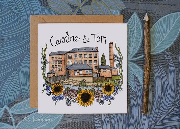 Caroline & Tom
