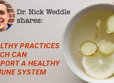 Healthy Practices Which Can Support A Healthy Immune System