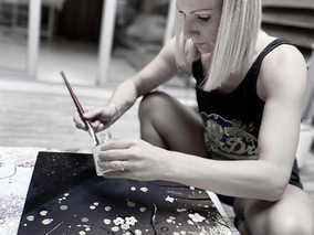 Laëtitia, une artiste contemplative