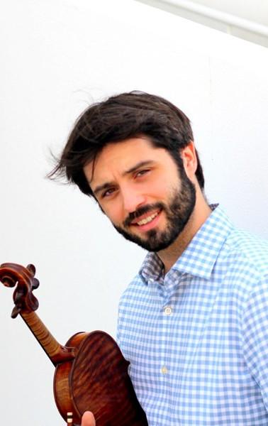 Zach Montasser, violin