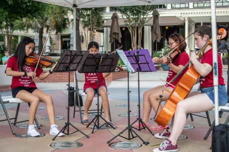 Pop-Up Concert in Market Street