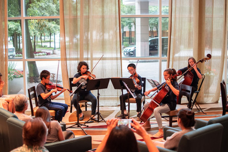 Chamberfest Pop-Up Concert in the Marriott Hotel