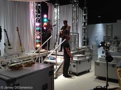 Zaxby's Commercial Studio Set Photo