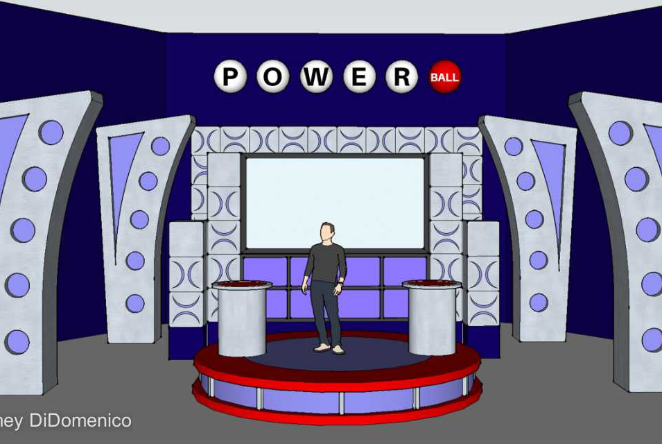 Powerball Commercial - Set Rendering