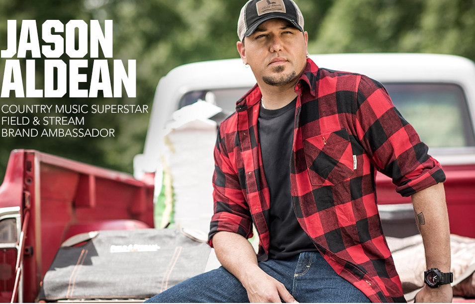 Jason Aldean for Field and Stream