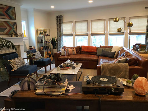 "CEFCU - Vinyl Commercial - Set Photo ""After"""