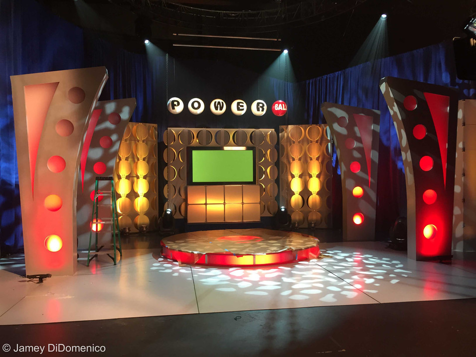 Powerball Commercial - Set Photo