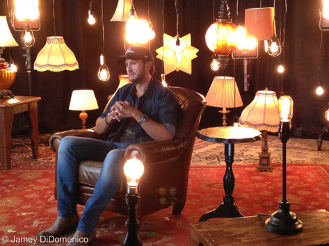 iHeart Radio Country Music Festival Interview Set Photo
