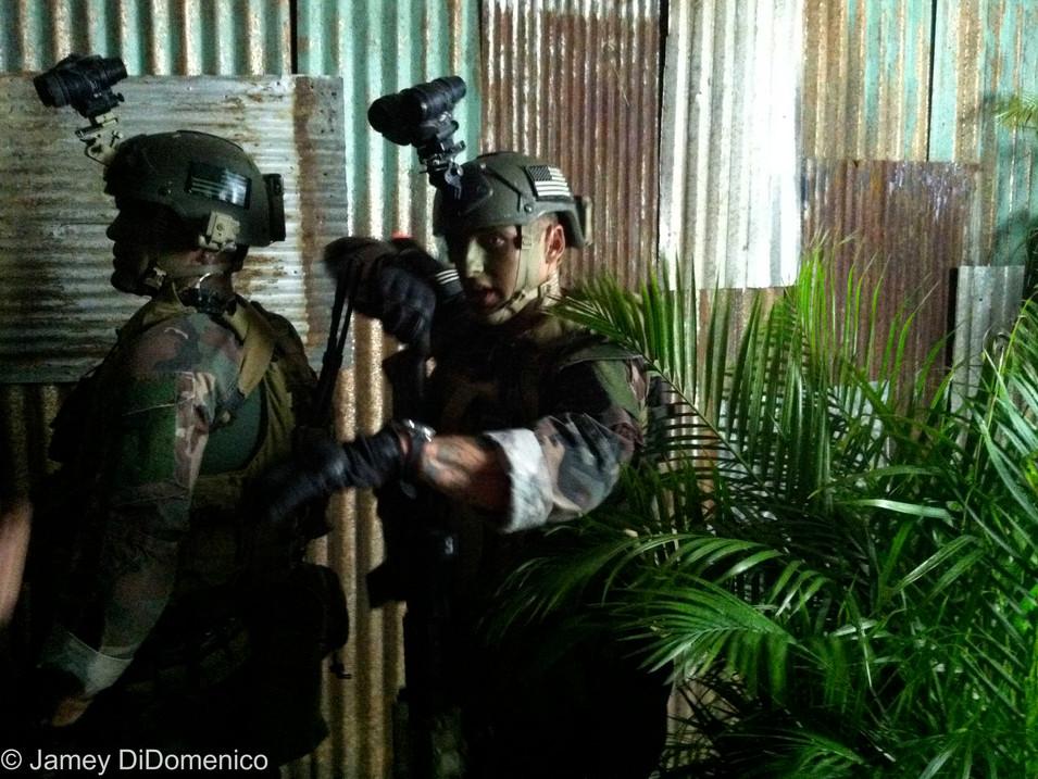 MARSOC Military Commercial - Set Photo