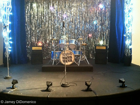 "Cheap Trick ""I Want You For Christmas"" Set Photo"