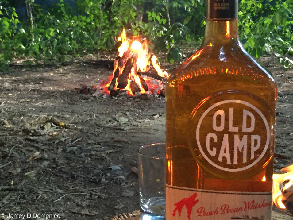 Old Camp Whiskey Commercial - Set Photo