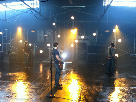 "Parmalee ""Musta Had A Good Time"" Set Photo"