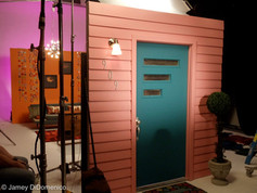 """Sarah Darling """"Something To Do With Your Hands"""" Set Photo"""