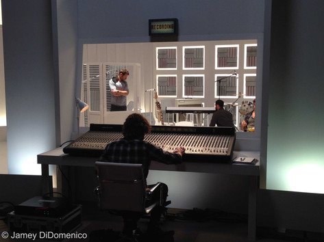 Zaxby's Commercial Studio Set Photo