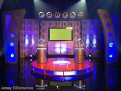 Powerball Commercial Studio Set Photo