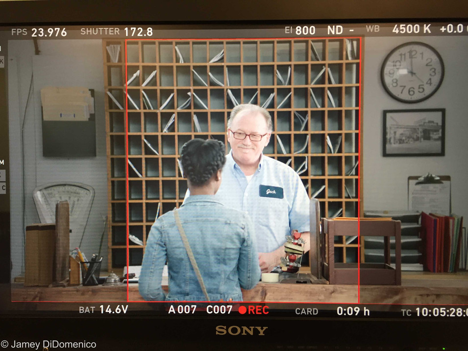 TN Lottery Commercial - Set Photo