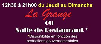 Restaurant L'horizon La Grange Doazit