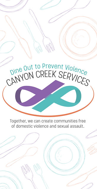 Dine Out to Prevent Violence A-Frame 2-0