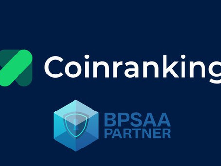 BPSAA partnership with Coinraking