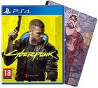 Jeu Cyberpunk 2077 Edition Day One sur PS4 + Steelbook