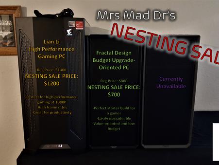 Nesting Sale!